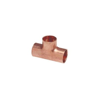 EPC 111 Solder Tube Tee, 3/4 in, C x C x C, Copper, Domestic