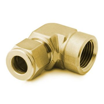 Compression and Male Pipe Tank Fitting Parker 682C-8-8 Fitting Tube to Pipe 1//2 Brass