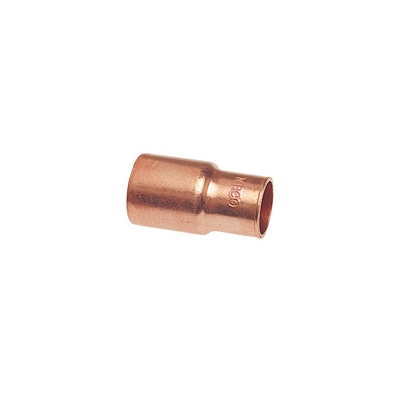 EPC 118 Solder Concentric Fitting Reducer, 1-1/2 x 1 in, FTG x C, Copper,  Domestic