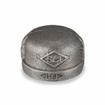 Shop Black Malleable Pipe Fitting Caps here - BPS Supply