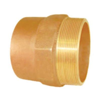 EPC 10051052 4704 Solder Male Adapter, 6 in, C x Male, Cast Brass