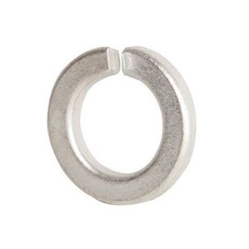 "1/4"" Zinc Plated Split Ring Lock Washer"