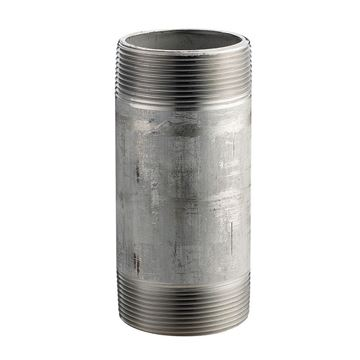 Picture of 1/8 X 8 S40 316 SS NIPPLE TBE