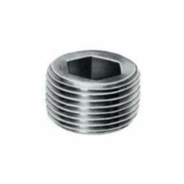 Picture of 1/4 STD BLK COUNTERSUNK HEX PLUG