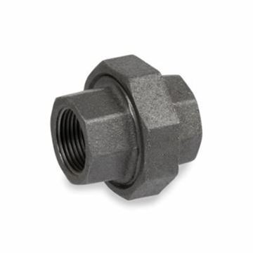 Picture of 3/8 STD BLACK HEX UNION