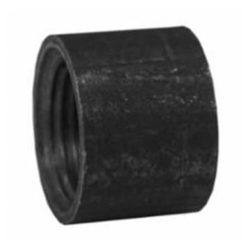 Picture of 3/8 BLK HALF COUPLING STRAIGHT TAPPED DOMESTIC BKHCO100506