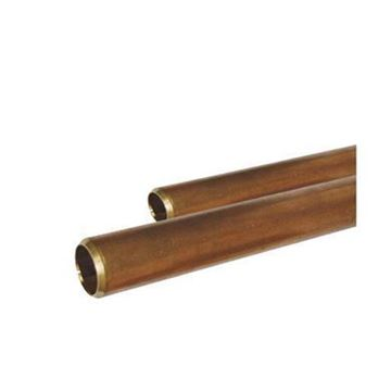 2 S40 RED BRASS PIPE