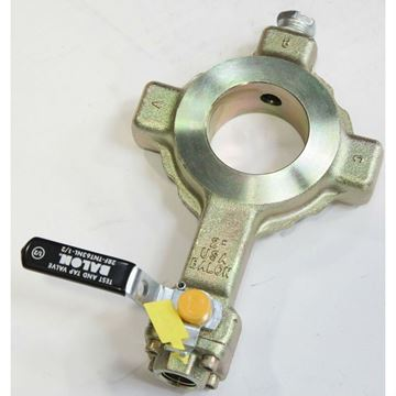 2 Inch Full Port Integral Steel Test and Tap Device WIth 1/2 Inch Balon Ball Valve