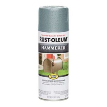 Picture of 7212830 RUSTOLEUM LIGHT BLUE HAMMERED FINISH AEROSOL CAN
