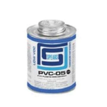 Picture of PVC 05 CEMENT CLEAR PINT LOW VOC MEDIUM BODY FAST SET SPEARS PVC05C-020