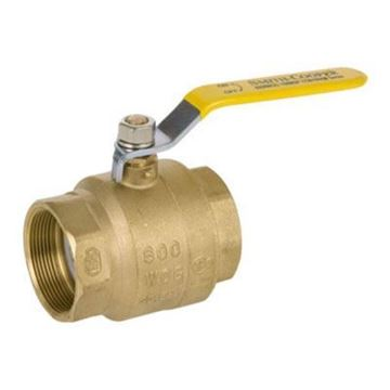 Picture of 1/4 600 BRS FP BALL VALVE IPS SMITH COOPER 0172 8155C