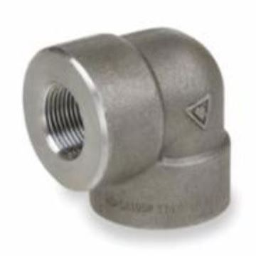 Picture of 1/2 3M FS A105 THD GALVANIZED 90 ELBOW