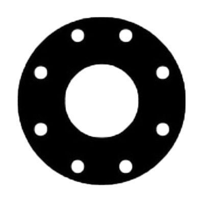 6 in  150 1/8 Thick Full Face Viton Gasket