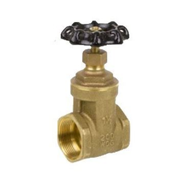 Picture of 2 200 BRS THREADED GATE VALVE SMITH COOPER 0171 8501N