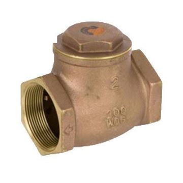 Picture of 1 1/4 200 BRS THREADED SWING CHECK VALVE SMITH COOPER 0173 9191L