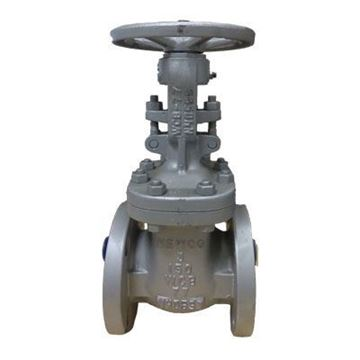 Picture of NEWCO 3 150 RF FLGD CS GATE VALVE A216WCB 13CR TRIM HF SEAT 11FCB2
