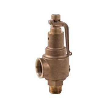Picture of 1 1/4 X G X 1 1/2 NPT X NPT SPIRAX SARCO SV5708 BRONZE SAFETY VALVE, SECTION VIII, STOCK NO 72113