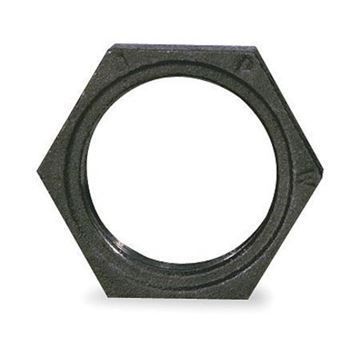 Picture of 1/2 BLACK LOCKNUT