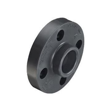 Picture of 1 1/2 150 S80 PVC SLIP FLANGE SOLID 1-PIECE 851015