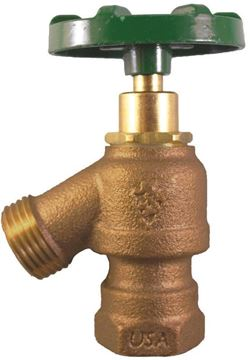 Picture of ARROWHEAD 925LKLF GARDEN VALVE 1/2 & 3/4 FIP NESTED THDS LOOSE KEY LEAD FREE ARR925LK