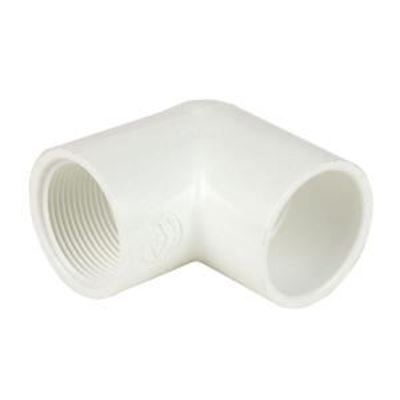 Picture of 1/2 S40 PVC S X FPT 90 ELL 407005