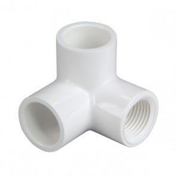 Picture of 1/2 S40 PVC SIDE OUTLET ELL S X FPT 414005