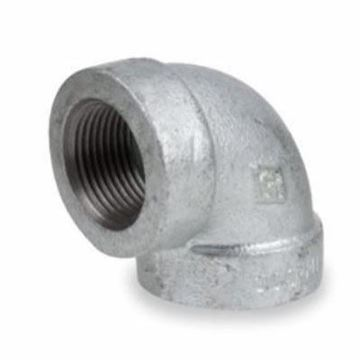 Picture of 1/4 STD GALVANIZED 90 ELL DOM
