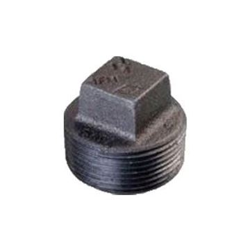 Picture of 1 1/4 STANDARD BLACK SQUARE HEAD PLUG DOMESTIC