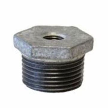 Picture of 1 1/2 X 1/4 GALVANIZED HEX BUSHING DOM