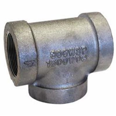 1 1/4 300 GALVANIZED TEE DOM | BPS Supply Group