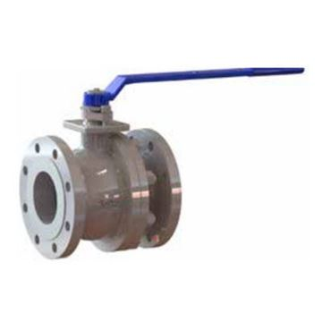 Picture of GWC 4 150 RF FLANGED A216WCB FP CAST STEEL BALL VALVE SPLIT BODY 316 SS TRIM RTFE SEATS WITH HANDLE B150-1-BC-G1-L