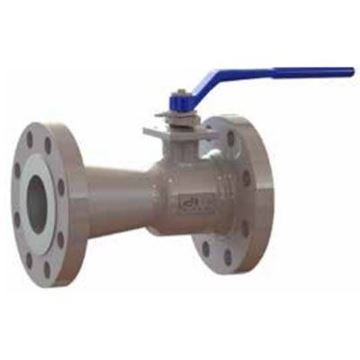Picture of GWC 6 300 RF FLANGED A216WCB RP CAST STEEL BALL VALVE UNI BODY 316 SS TRIM RTFE SEATS WITH HANDLE A300-1-BC