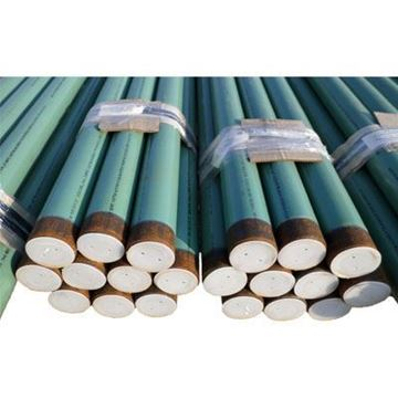 Picture of 4 .237W STD A106B PIPE SMLS DRL I 16-18 MILS GREEN FUSION BONDED EPOXY COATING