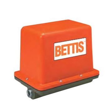 Picture of BETTIS EM144F-10-E4-02-001 ELECTRIC ACTUATOR, 115VAC 50/60HZ, CSA ELECTRICAL CERTIFICATION NEMA4, BRAKE, 30% DUTY CYCLE, 10 SEC. CYCLE TIME, 250 IN/LBS. OUTPUT, FEMALE DRIVE
