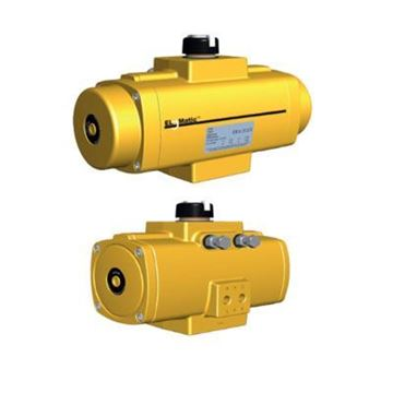 Picture of FD0040 ELOMATIC PNEUMATIC DOUBLE ACTING ACTUATOR W/ DUAL STROKE ADJUSTMENTS STD TEMP PART FD0040.U00CWALT.NL14.SKA00XX