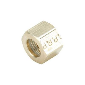 Picture of NUT-COMPR 1/2 BRASS  M28081 VPC# 61C-8