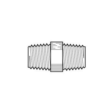 Picture of P4HPN4 POLY 1/4X1/4 HEX NIPPLE PARPP4HPN4