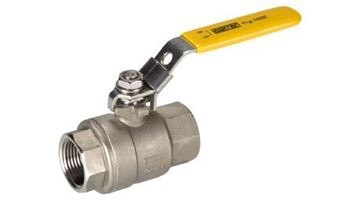 Picture of 2 1000 316 RTFE 2 PC THD FP BALL VALVE WARREN 1022C