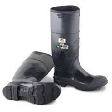 RUBBER STEEL TOE BOOTS 11
